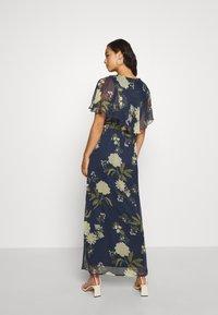 Vero Moda - VMLUCCA FRILL DRESS - Occasion wear - night sky - 2