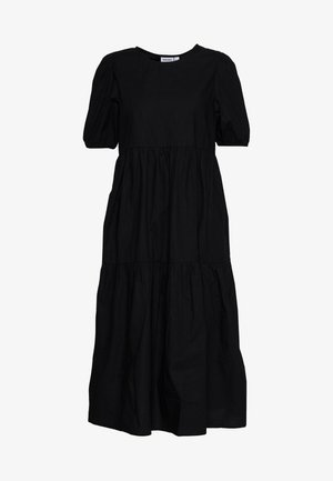 VMOLIVE CALF DRESS - Day dress - black