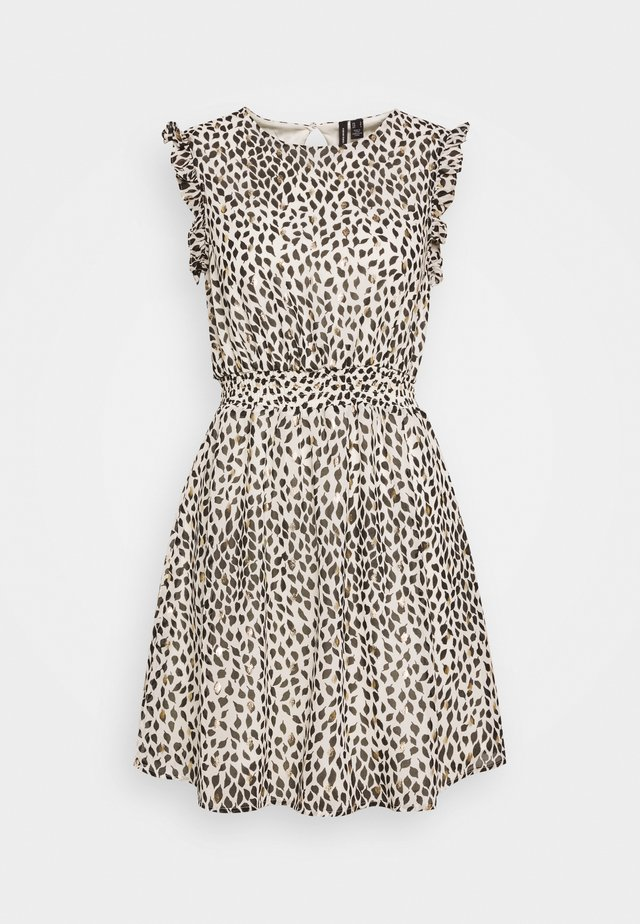 VMPENNY SHORT DRESS - Korte jurk - birch/penny