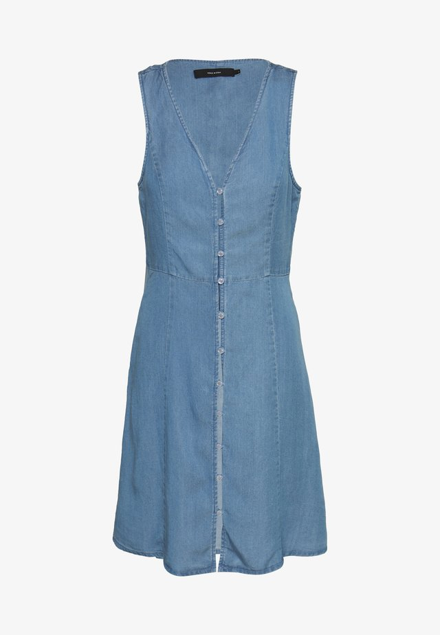 VMLENA SL  - Vestido vaquero - light blue denim