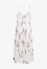 Vero Moda - VMLOVELY PLEAT SINGLET CALF DRESS - Day dress - snow white - 1
