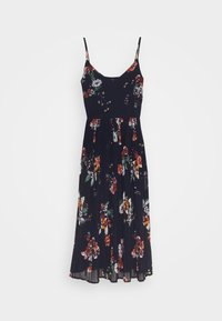 Vero Moda - VMLOVELY PLEAT SINGLET CALF DRESS - Day dress - navy blazer - 3