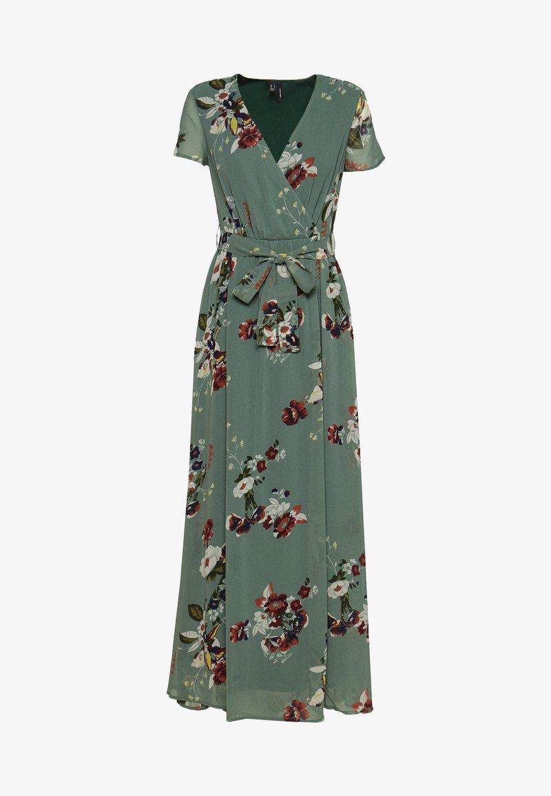 Vero Moda - VMLOVELY V NECK LONG DRESS - Maxikjole - laurel wreath