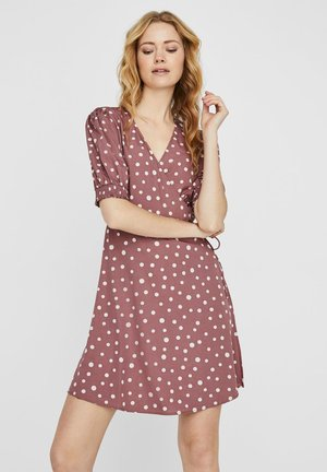 KLEID WICKEL - Day dress - rose brown