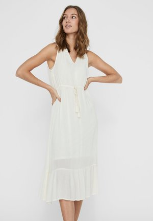 KLEID LOOSE FIT - Day dress - white