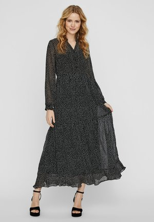 VERO MODA MAXIKLEID MAXI - Vestito lungo - black