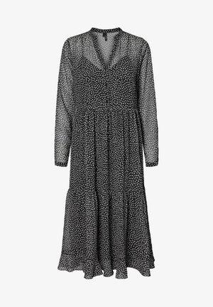 VERO MODA MAXIKLEID MAXI - Maxi dress - black