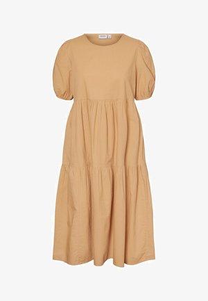 Day dress - tan
