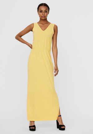 Maxi dress - banana cream