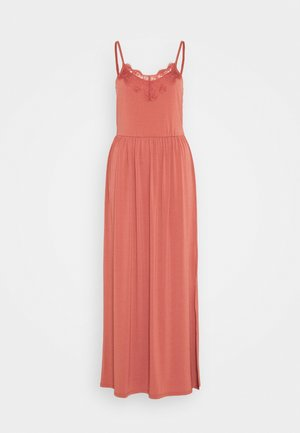 VMDITTA SINGLET ANCLE DRESS - Maxi šaty - marsala