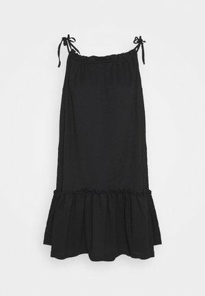 VMTESS SINGLET SHORT DRESS  - Korte jurk - black