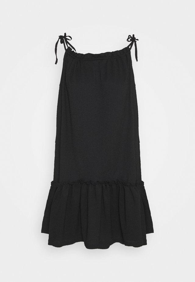 VMTESS SINGLET SHORT DRESS  - Sukienka letnia - black