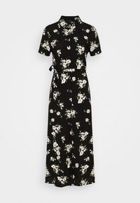 Vero Moda - VMSIMPLY EASY LONG SHIRT DRESS - Blousejurk - black - 4