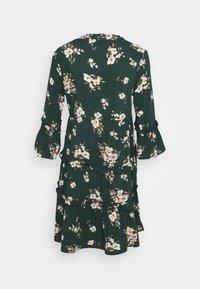 Vero Moda - VMSIMPLY EASY 3/4 WVN G - Day dress - ponderosa pine/sandy ponderosa pine - 1