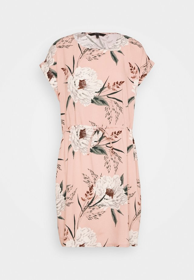 VMSIMPLY EASY SHORT DRESS - Vardagsklänning - misty rose