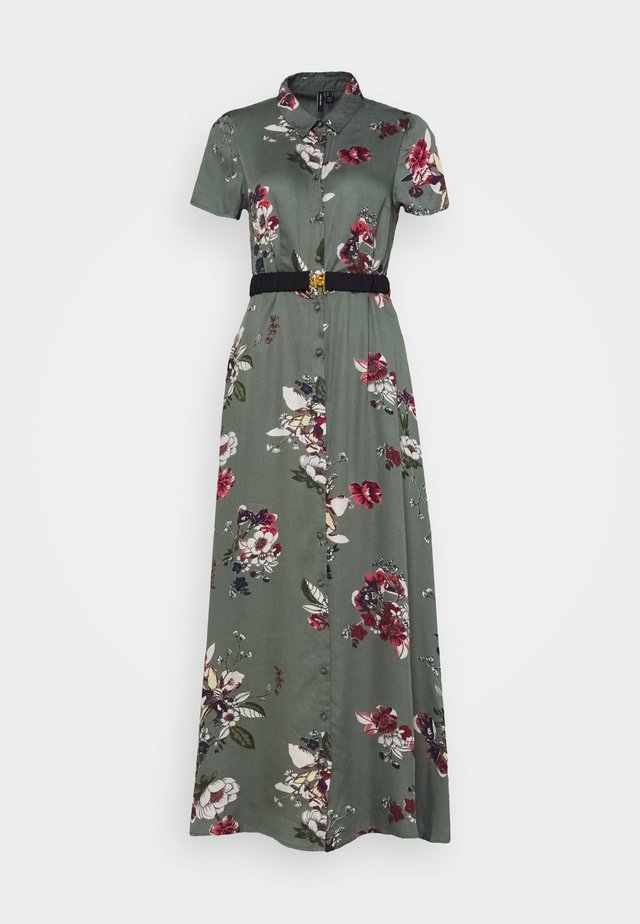 VMLOVELY ANCLE DRESS - Maxikleid - laurel wreath