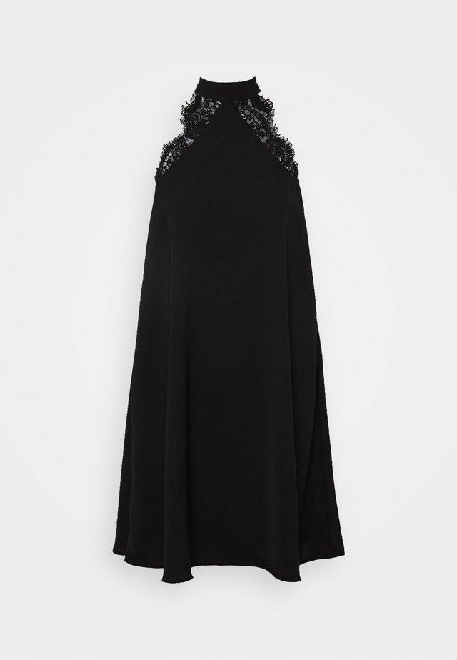 VMLOVELY HALTERNECK SHORT DRESS - Cocktailkleid/festliches Kleid - black