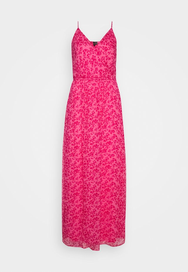 VMWONDA WRAP DRESS - Vestito lungo - pink carnation