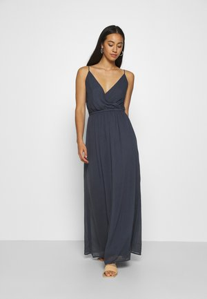 VMWONDA WRAP DRESS - Maxikjoler - ombre blue