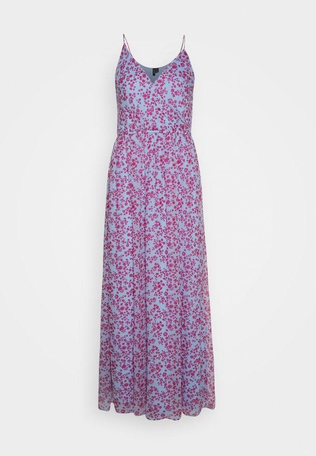 VMWONDA WRAP DRESS - Vestito lungo - placid blue
