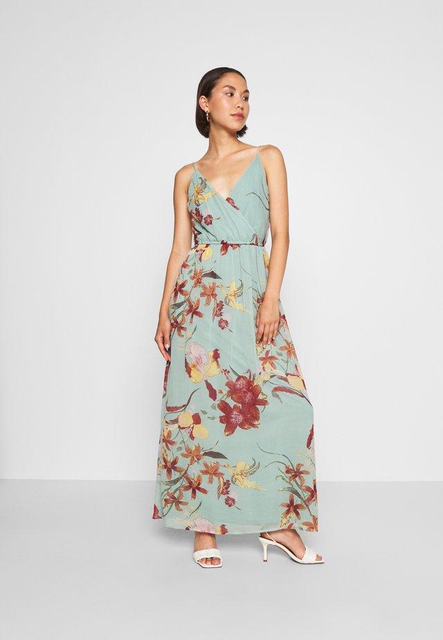 VMWONDA WRAP DRESS - Robe longue - jadeite/asta