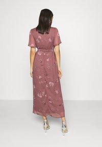 Vero Moda - VMWONDA WRAP DRESS  - Długa sukienka - rose brown - 2