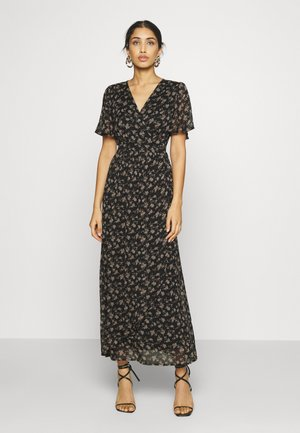 VMWONDA WRAP DRESS  - Vestido largo - black