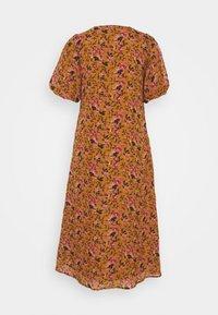 Vero Moda - VMVILDE CALF DRESS - Vestito estivo - buckthorn brown - 1