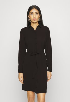 VMSAGA COLLAR DRESS  - Robe chemise - black