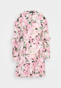 Vero Moda - VMCLEO SHORT DRESS  - Vestito estivo - light pink - 0