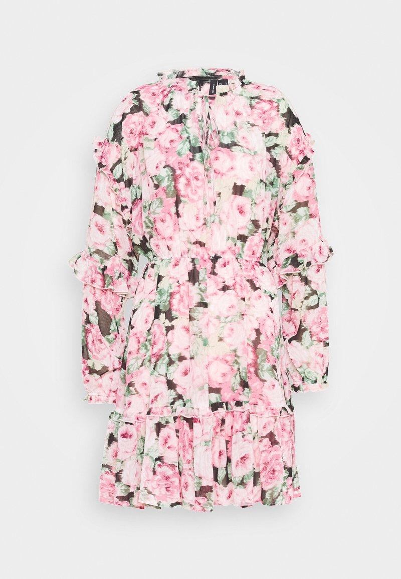 Vero Moda - VMCLEO SHORT DRESS  - Vestito estivo - light pink