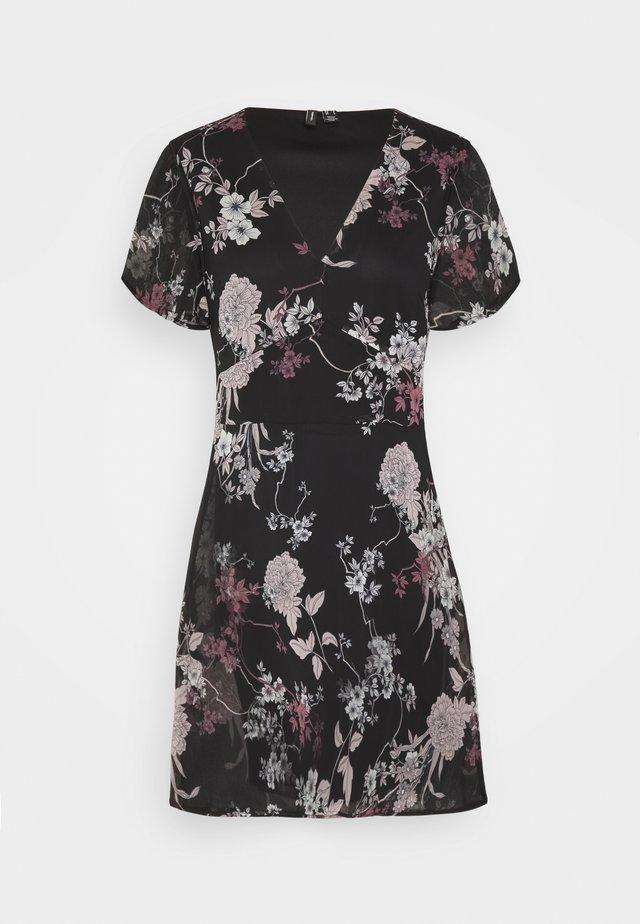 VMKATINKA SHORT DRESS - Day dress - black