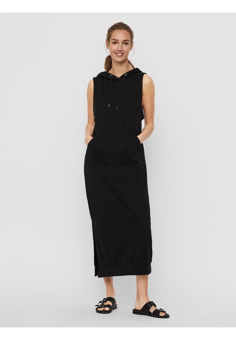 Vero Moda - Vestito di maglina - black