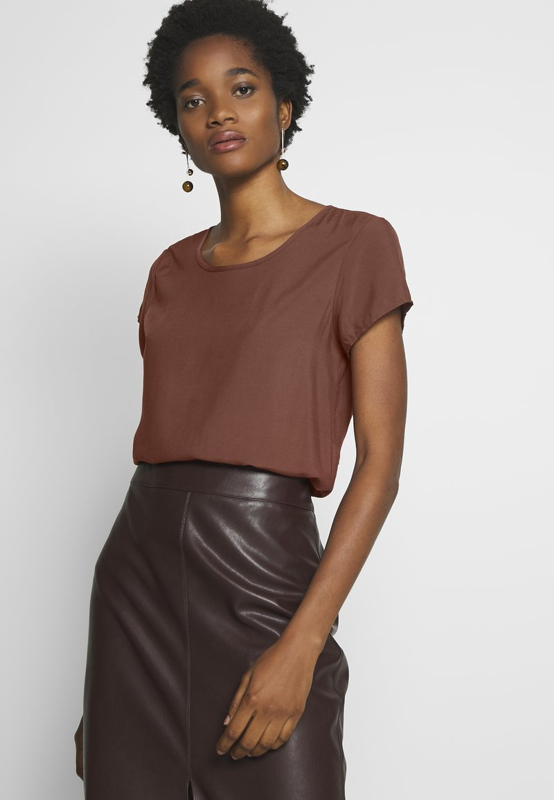 Vero Moda - BOCA TOP  - Blůza - sable