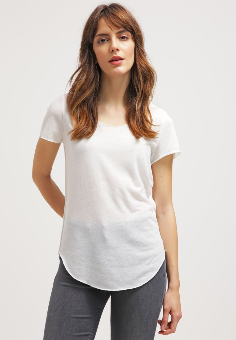 Vero Moda - VMLUA  - T-shirt basique - snow white