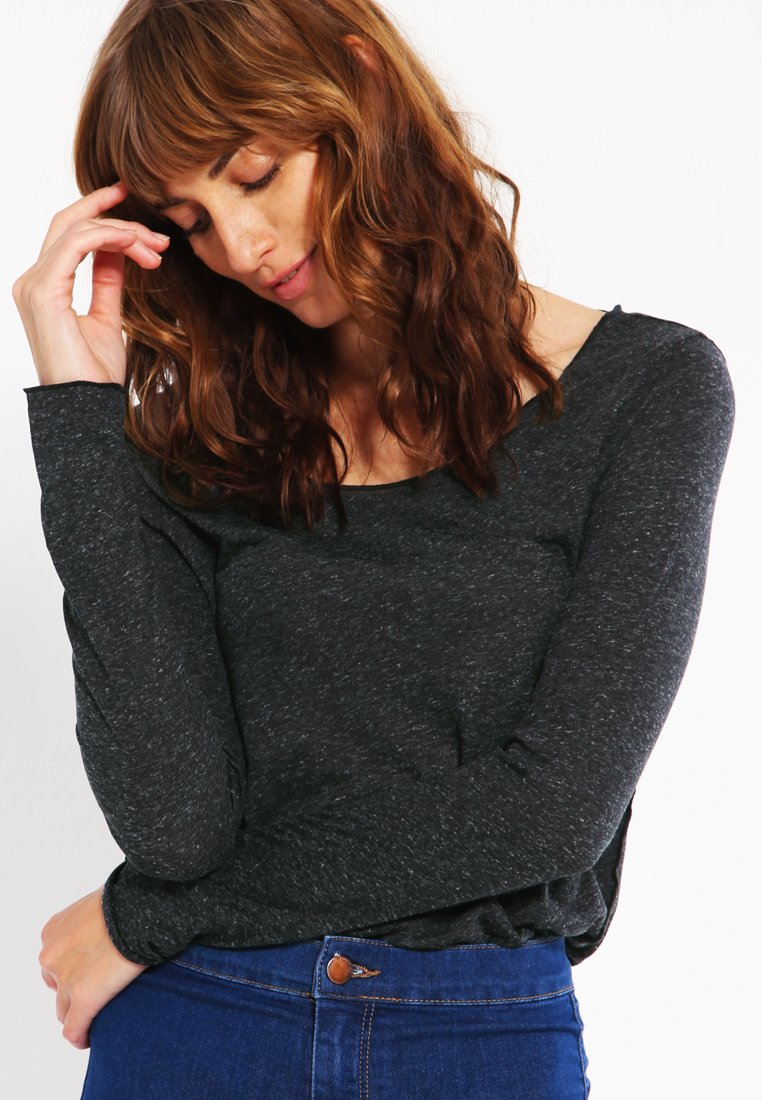 Vero Moda - VMLUA  - Top sdlouhým rukávem - black