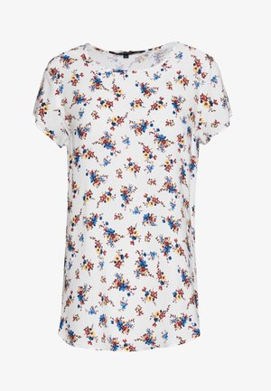 VMBOCA BLOUSE PRINTED - Blůza - snow white