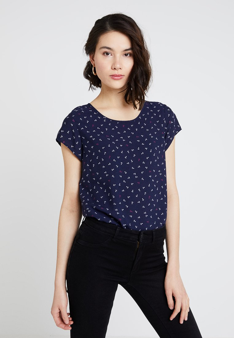 Vero Moda - VMBOCA BLOUSE - Bluse - night sky