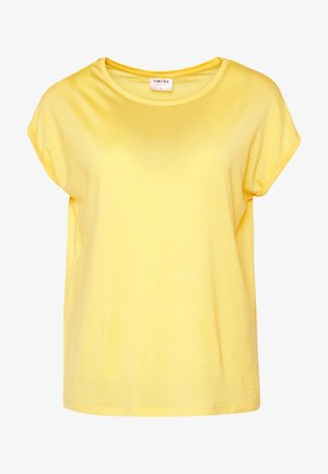 VMAVA PLAIN - T-shirts - banana cream