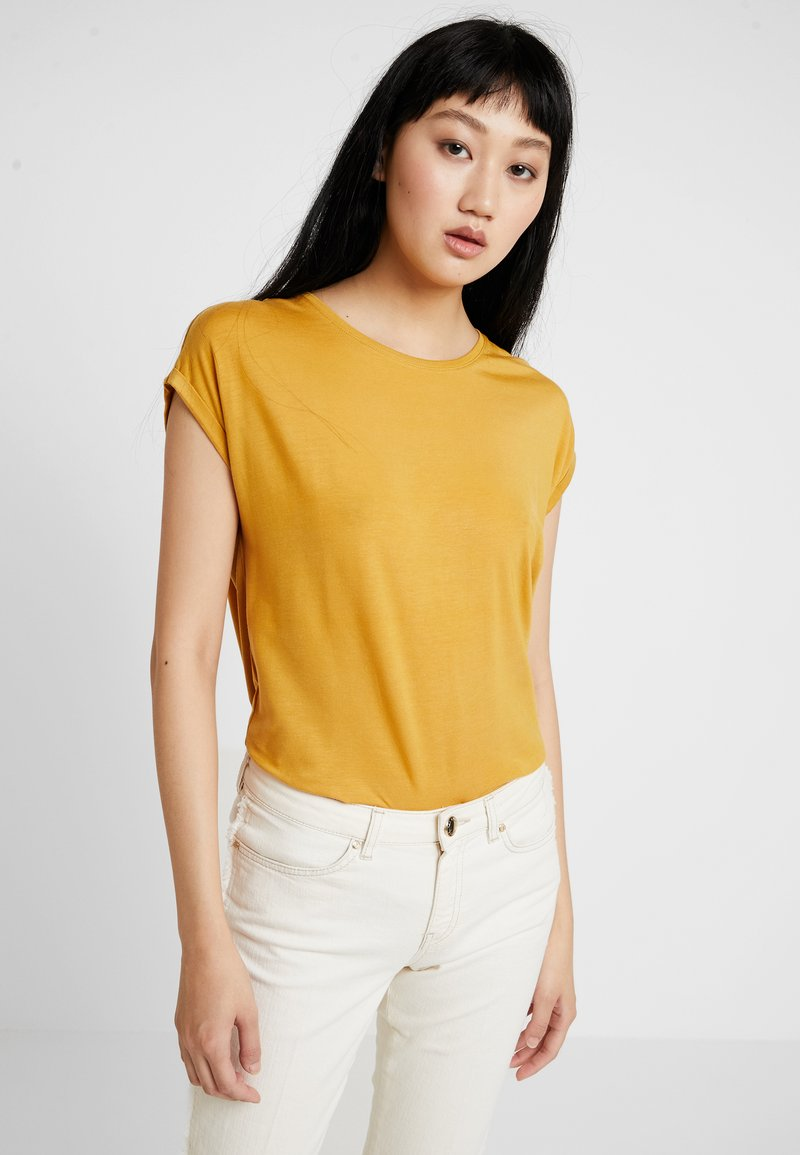Vero Moda - Basic T-shirt - amber gold