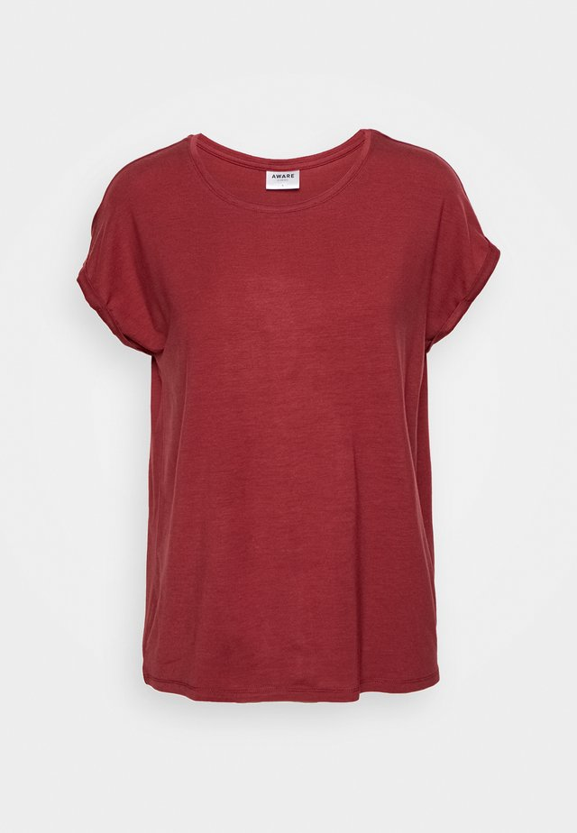 VMAVA PLAIN - T-shirts basic - tibetan red