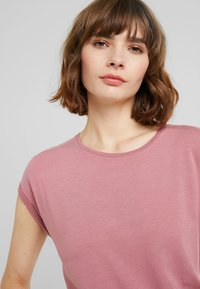 Vero Moda - VMAVA PLAIN - T-shirt basic - mesa rose - 4