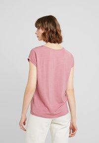Vero Moda - VMAVA PLAIN - T-shirt basic - mesa rose - 2