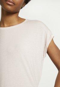 Vero Moda - VMAVA PLAIN - T-shirt basic - sepia rose - 4