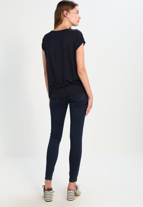 Vero Moda T-shirt basic - night sky Koszulki i Topy CMHM-MT1 dobrze rozwinięty