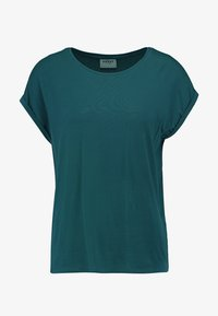Vero Moda - VMAVA PLAIN - Camiseta básica - atlantic deep - 4