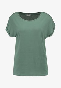 Vero Moda - VMAVA PLAIN - T-shirts - laurel wreath - 4