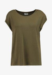 Vero Moda - VMAVA PLAIN - T-shirt basic - ivy green - 3