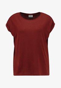 Vero Moda - VMAVA  - T-shirt basic - madder brown - 3
