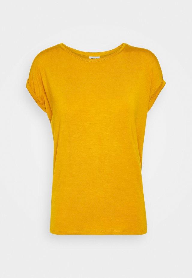 VMAVA PLAIN - Basic T-shirt - buckthorn brown